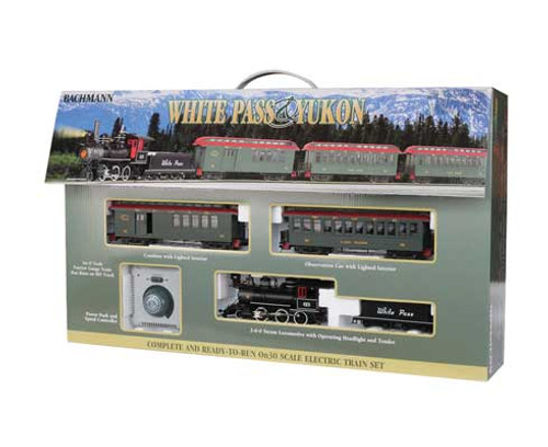 25024 Bachmann / WP&Y Passenger Train Set (SCALE=On30) Part#=160-25024