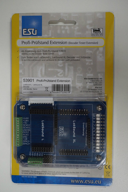ESU 53901 LokSound Extension Board for Decoder Tester (Scale=ALL) 397-53901