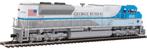 Walthers 19854 EMD SD70ACe - ESU (R) Sound and DCC -- Union Pacific(R) 4141 George H. W. Bush (blue, white, gold)   (SCALE=HO)  Part # 910-19854