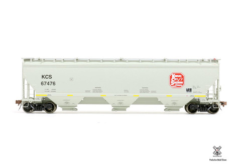 Scaletrains {SXT30831} Gunderson 5188CF Hopper KCS - Kansas City Southern #67550 (Scale=HO) Part#8003-SXT30831