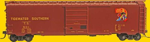 Kadee 6406 50 Boxcar - Tidewater Southern TS #501 (SCALE=HO)  Part #380-6406
