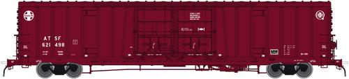Atlas 20004926 BX-166 Boxcar - Santa Fe ATSF - Late Q logo #1 #621498 (Scale=HO) 150-20004926