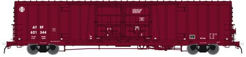 """Atlas 20004933 BX-166 Boxcar - Santa Fe ATSF - Berwind """"J"""" Repaint #621595 (Scale=HO) 150-20004933"""