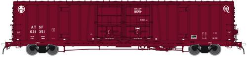 Atlas 20004946 BX-166 Boxcar - Santa Fe ATSF - Early Q LOGO #621351 (Scale=HO) 150-20004946