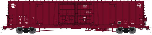 Atlas 20004947 BX-166 Boxcar - Santa Fe ATSF - Early Q LOGO #621515 (Scale=HO) 150-20004947