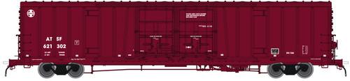 """Atlas 20004953 BX-166 Boxcar - Santa Fe ATSF - Berwind """"C"""" Repaint #621469 (Scale=HO) 150-20004953"""