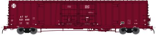 "ATLAS 50004069 BX-166 Boxcar Santa Fe ATSF 24"" LOGO #2 #621489 (SCALE=N) Part # 150-50004069"