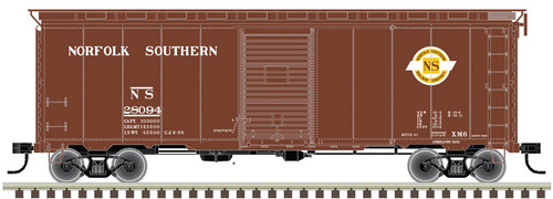 ATLAS 20004766 40' Postwar Boxcar Norfolk Southern NS #28094 (SCALE=HO) Part # 150-20004766