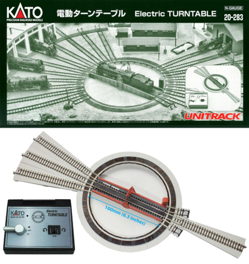 Kato 20-283 - Electric Turntable  (SCALE=N)  Part # 381-20-283