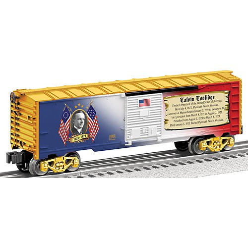 6-25932 Lionel / Coolidge Presidential Boxcar (SCALE=O)  Part # 434-625932