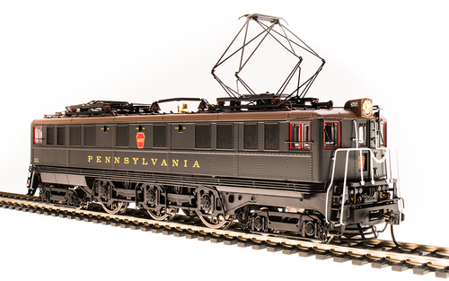 BLI 4704 P5a Boxcab Electric -PRR - Pennsylvania #4718, Sound/DC/DCC Broadway Limited  (SCALE=HO)  Part # 187-4704