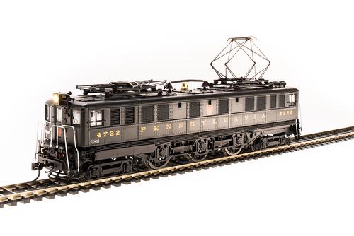 BLI 4711 P5a Boxcab Electric -PRR - Pennsylvania #4760, Sound/DC/DCC Broadway Limited  (SCALE=HO)  Part # 187-4711