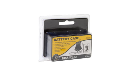 Woodland Scenics 5682 Battery Case - Just Plug  (SCALE=ALL)  Part # 785-5682