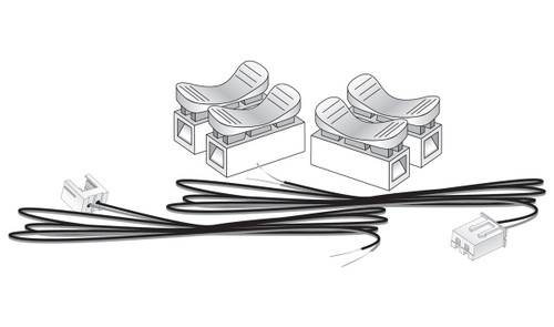 Woodland Scenics 5684 Extension Cable Kit- Just Plug  (SCALE=ALL)  Part # 785-5684