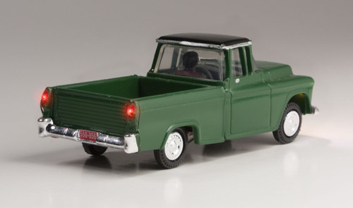 Woodland Scenics 5590 Green Pickup - Just Plug  (SCALE=HO)  Part # 785-5590