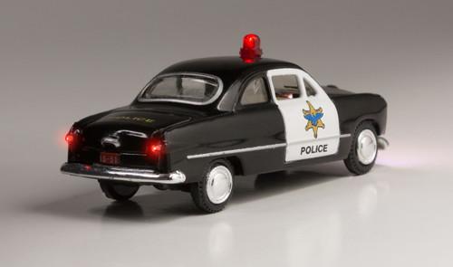 Woodland Scenics 5593 Police Car - Just Plug  (SCALE=HO)  Part # 785-5593