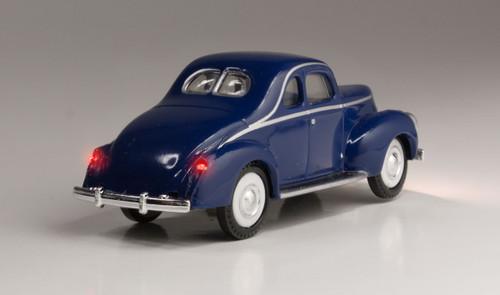 Woodland Scenics 5598 Blue Coupe - Just Plug  (SCALE=HO)  Part # 785-5598
