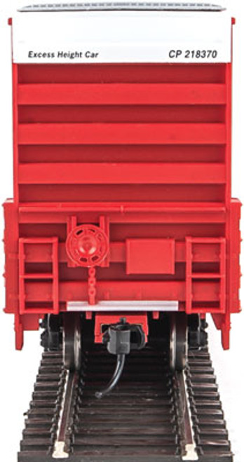 Walthers 910-2929 60' High Cube Plate F Boxcar CP - Canadian Pacific #218370 (SCALE=HO)  Part #910-2929