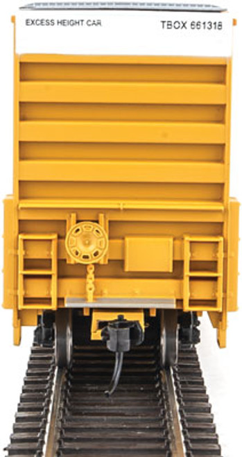 Walthers 910-2950 60' High Cube Plate F Boxcar TBOX -TTX Railcar Pooling Experts #661318 (SCALE=HO)  Part #910-2950