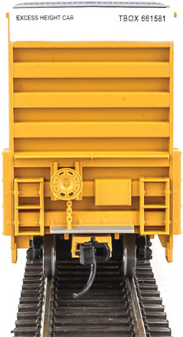 Walthers 910-2951 60' High Cube Plate F Boxcar TBOX -TTX Railcar Pooling Experts #661581 (SCALE=HO)  Part #910-2951