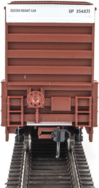 Walthers 910-2956 60' High Cube Plate F Boxcar UP - Union Pacific #354871 (SCALE=HO)  Part #910-2956