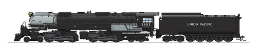 BLI 5822 Challenger 4-6-6-4 Union Pacific UP #3955 Broadway Limited  (SCALE=HO)  Part # 187-5822