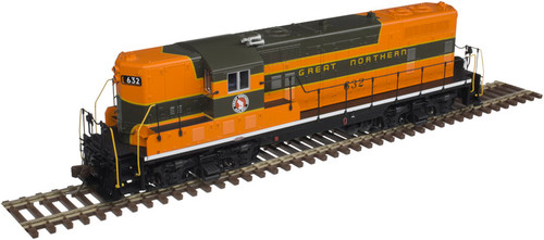 ATLAS 10002930 GP7 - GN - Great Northern #634 Gold - DCC & Sound (SCALE=HO) Part # 150-10002930