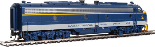 Walthers Proto 920-42361 / E8A/A C&O Chesapeake & Ohio #4018/4027 Equipped with LokSound & DCC  (SCALE=HO)  Part # 920-42361