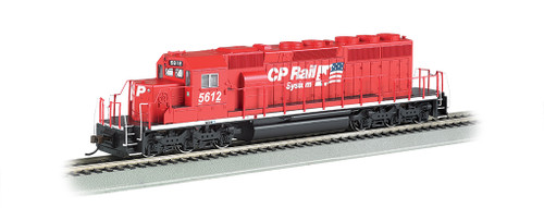 Bachmann 67201 / EMD SD40-2 - Sound & DCC CP Rail - Canadian Pacific #5612(red, white; Dual Flags Logo)  (Scale=HO) Part #160-67201