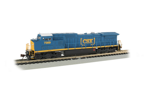 Bachmann 67353 / GE Dash 8-40CW DCC & Soundtraxx Econami Sound CSX #7369 (Scale=N) Part#160-67353