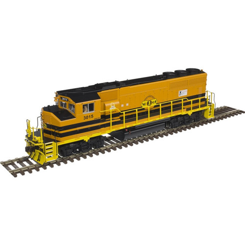 ATLAS 10002715 EMD GP40-2W - NEC - New England Central #3015 Gold - DCC & Sound (SCALE=HO) Part # 150-10002715