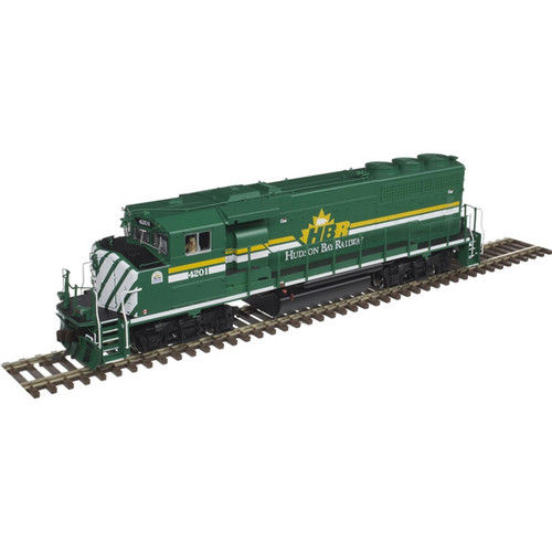 ATLAS 10002719 EMD GP40-2W - HBR - Hudson Bay Railway #4200 Gold - DCC & Sound (SCALE=HO) Part # 150-10002719