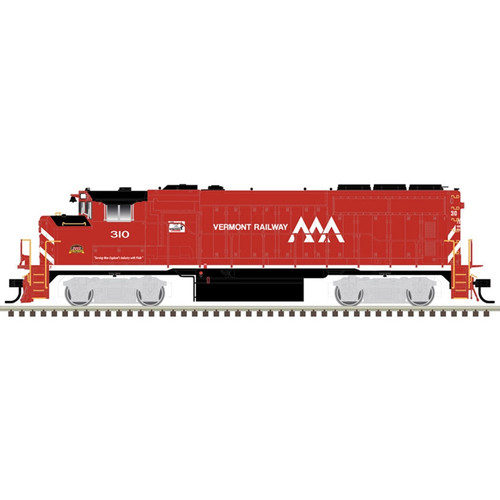 ATLAS 10002724 EMD GP40-2W - VTR - Vermont Railway #310 Gold - DCC & Sound (SCALE=HO) Part # 150-10002724