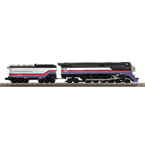 MTH {30-1776-1} GS-4 4-8-4 O-27 Imperial  w/PS3, American Freedom #4449 (Scale=O) Part#507-3017761