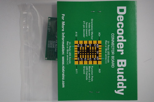 NixTrainz Decoder Buddy Version 5 - motherboard for 21 Pin decoders (Scale=HO) #NIX-DecoderBuddy
