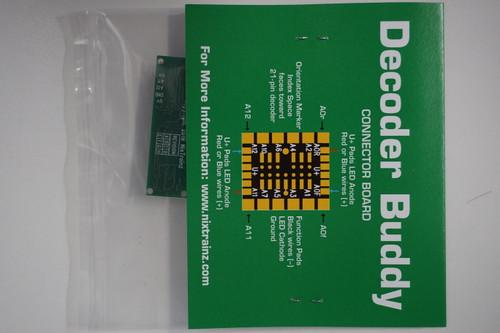 NixTrainz Decoder Buddy Version 5 - motherboard for 21 Pin decoders (Scale=HO) #NIX-DecoderBuddy