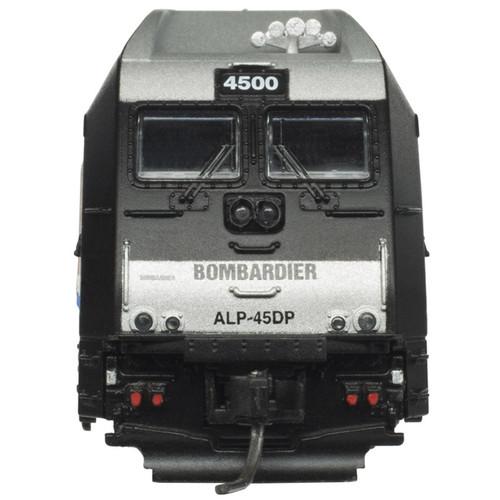 ATLAS 40004259 ALP-45DP - Bombardier Demonstrator AMT NJ Transit #4500 - Gold - DCC & Sound (SCALE=N) Part # 150-40004259