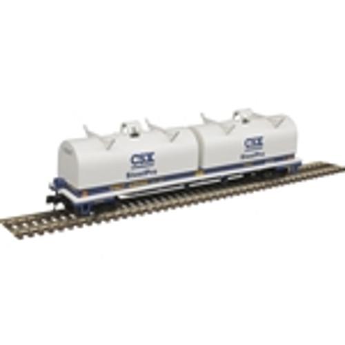 ATLAS 50004653 Cushion Coil Car - CSXT Steel Pro #496050 (SCALE=N) Part # 150-50004653