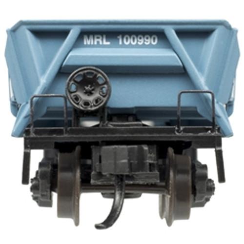 ATLAS 50004572 DIFCO Side Dump Car - MRL - Montana Rail Link #100990 (SCALE=N) Part # 150-50004572