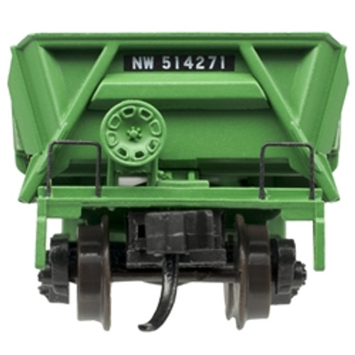 ATLAS 50004580 DIFCO Side Dump Car - N&W - Norfolk & Western #514283 (SCALE=N) Part # 150-50004580