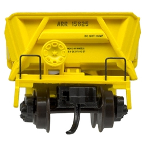 ATLAS 50004581 DIFCO Side Dump Car - ARR - Alaska Railroad #15825 (SCALE=N) Part # 150-50004581