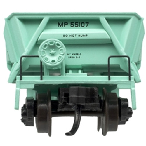 ATLAS 50004585 DIFCO Side Dump Car - MP - Missouri Pacific (UP Shield) #55143 (SCALE=N) Part # 150-50004585