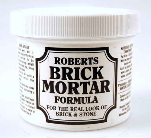 RBM-104 Roberts Brick Mortar Formula (4 oz. Jar)  (ALL Scales) Part #RBM-104