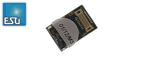 ESU 54686 LokPilot V4.0 DCC decoder, with Next 18 plug Part #397-54686