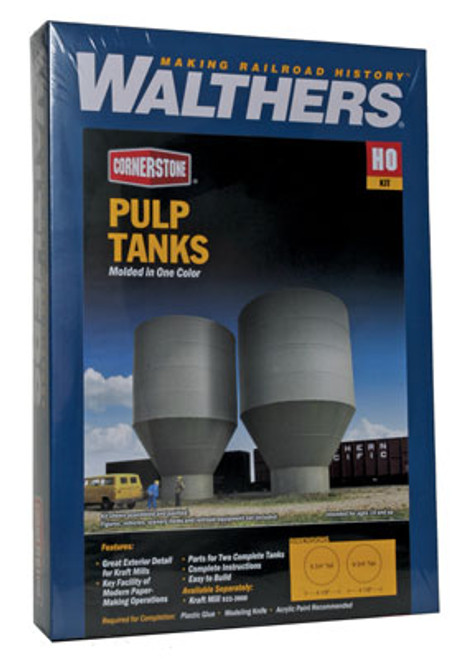 Walthers 933-3904 Pulp Tanks - Superior Paper (Scale=HO) Cornerstone Part#933-3904