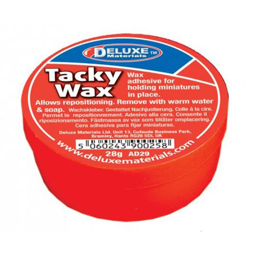 Deluxe Materials AD29 - Tacky Wax (Scale=ALL) Part #806-AD29