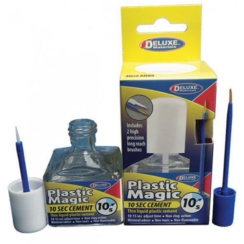 Deluxe Materials AD83 - Plastic Magic 10 Sec Cement (Scale=ALL) Part #806-AD83