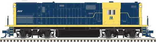 Atlas 10002981 ALCO C-420 - LIRR - Long Island RR (Retro) #222 - DCC & Sound (Scale=HO) Part#150-10002981