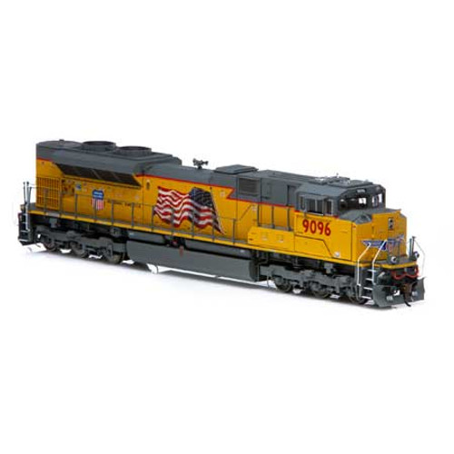Athearn ATHG89845 SD70ACe UP Union Pacific #9096 with DCC & Sound Tsunami2  (SCALE=HO)  Part #ATHG89845