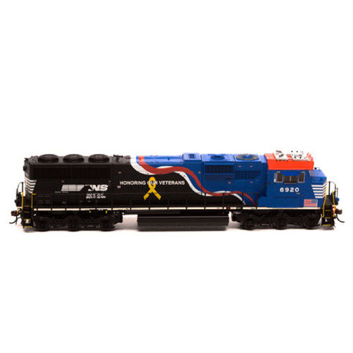 Athearn ATHG65204 SD60E NS - Honoring Veterans #6920 DCC Ready  (SCALE=HO)  Part #ATHG65204
